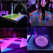 СИД 8*8 пикселей цифровой танцпол свет