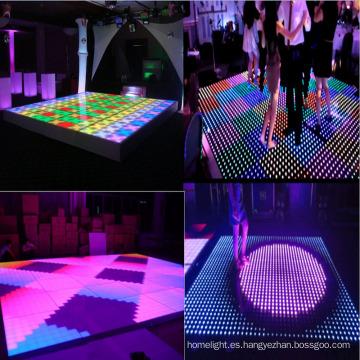 LED 8 * 8 Pixels Digital Dance Floor Light