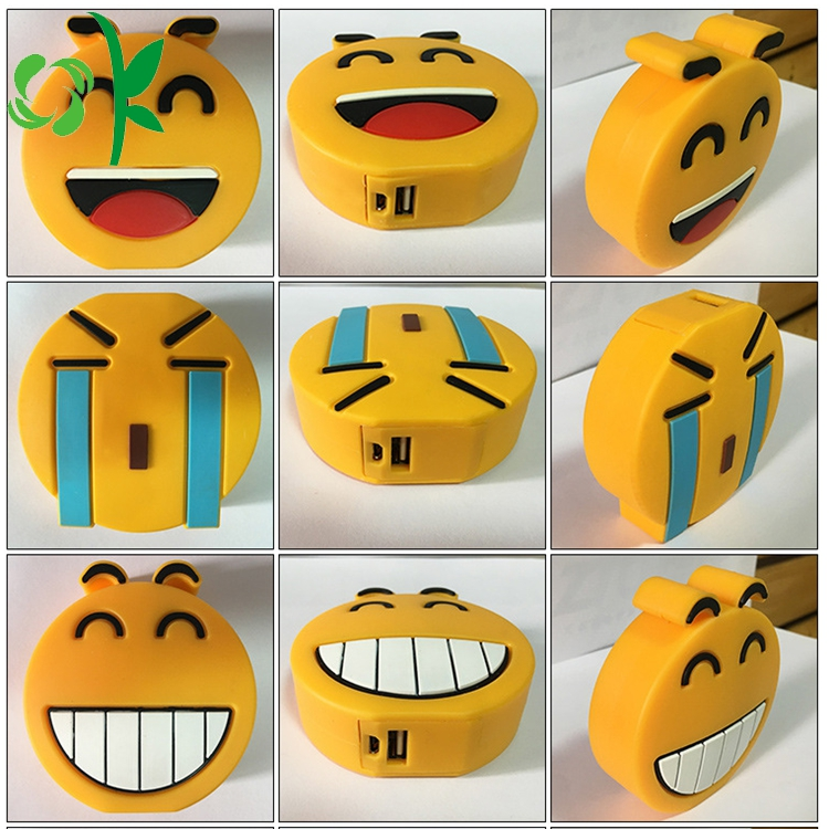 Emoji Battery Case Silicone