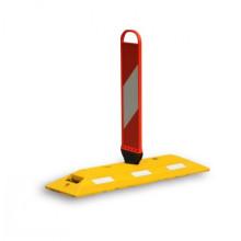 Produit fabriqué avec des diviseurs de route en caoutchouc durable pour panneaux SpringBack