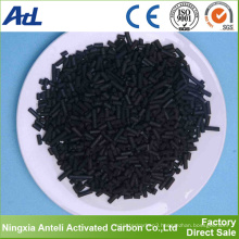 decolorization and refining wood based activated carbon