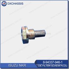 Véritable bouchon à vis de filtre à huile NKR 8-94337-946-1