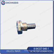 Genuine NKR Oil Filter Screw Plug 8-94337-946-1