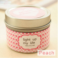 Soy Wax Scented Candle in Tin Jar