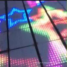 DJ Lighting crée une piste de danse interactive LED éclairée