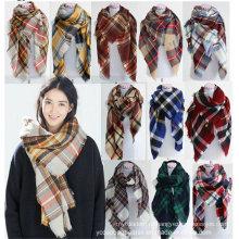 Новый стиль Модный Арге Зимний квадратный шарф