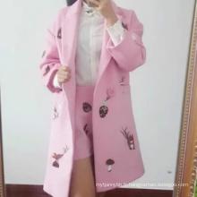 Vêtements en gros de haute qualité femmes manteau d'hiver