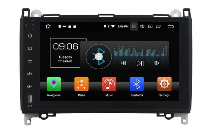Android head unit with GPS for Benz B200 (1)