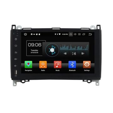 Android head-unit met GPS voor Benz B200