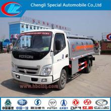 4X2 Oil Tank Truck 6cbm 8cbm 10cbm 12cbm Truck Foton Tank Truck Sale