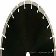 Diamond Saw Blades with Protective Teeth for Asphalt & Green Concrete Cutting
