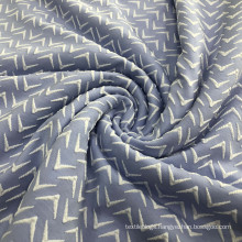 4 way stretch polyamide spandex breathable polyester weft knitted jacquard swimwear fabric