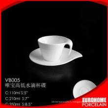 ensemble de thé porcelaine bon marché en gros rabais pour restaurant
