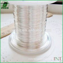 test report available High purity AWG 18 pure silver wire