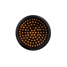 200mm 8 inch LED Traffic Light yellow optical amber optical