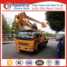 Dongfeng dfac 18M camión de trabajo de gran altura