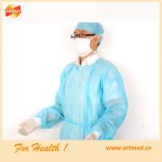 Batas quirúrgicas estériles dental de alta calidad