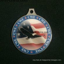 Znic personalizado liga medalha Medalha de Cmyk impressão