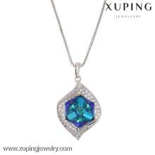 XN4729- imitation jewelry Crystals from Swarovski, single stone violet pendants