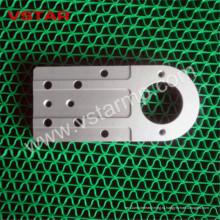 Изготовленный на заказ CNC подвергая механической обработке алюминиевое изготовление модели вертолета запасные части