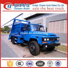 Dongfeng 6cbm swing brazo camión de basura