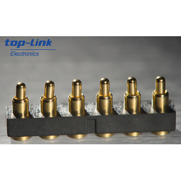 SMT Pogo Pin Connector, High Durability, Low Profile