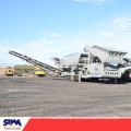 Mâchoire mobile de broyeur, machine mobile d'équipement d'extraction d'or