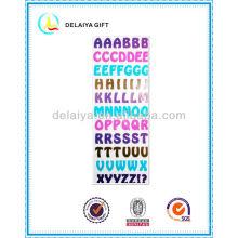 ПВХ/EVA пены алфавит буквы наклейки игрушки для детей