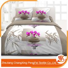 Forneça tecido de impressão extra extra grande para a folha de cama