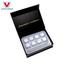 Alibaba Top Supplier Customized Whiskey Chilling Stones Ice Cube y fábrica de cubitos de hielo de acero inoxidable