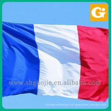 Impressão da bandeira nacional do país diferente