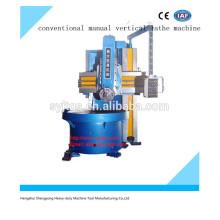 Hochpräzise neue konventionelle manuelle vertikale Drehmaschine Preis für den Verkauf mit guter Qualität