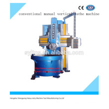 High precision new conventional manual vertical lathe machine price for sale with good quality