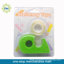 2PCS stationery tapes with 1pc tape dispenser set