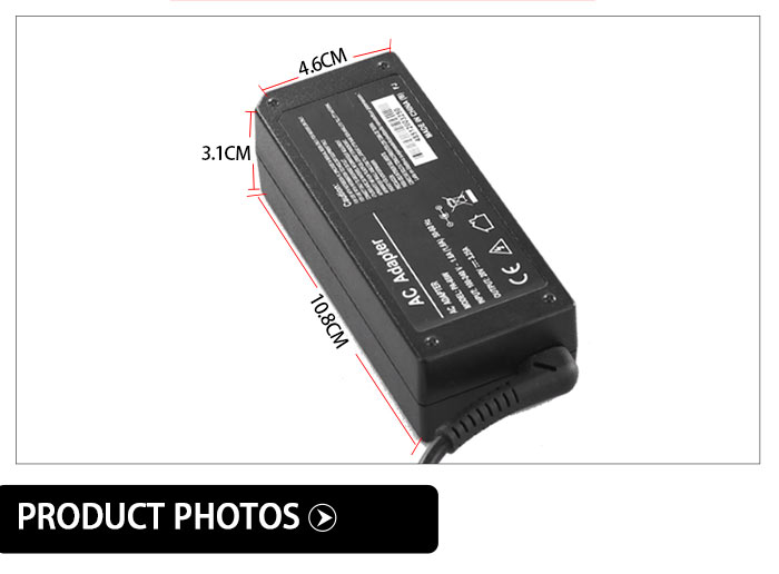 20V 4.5A ac/dc Power Adapter