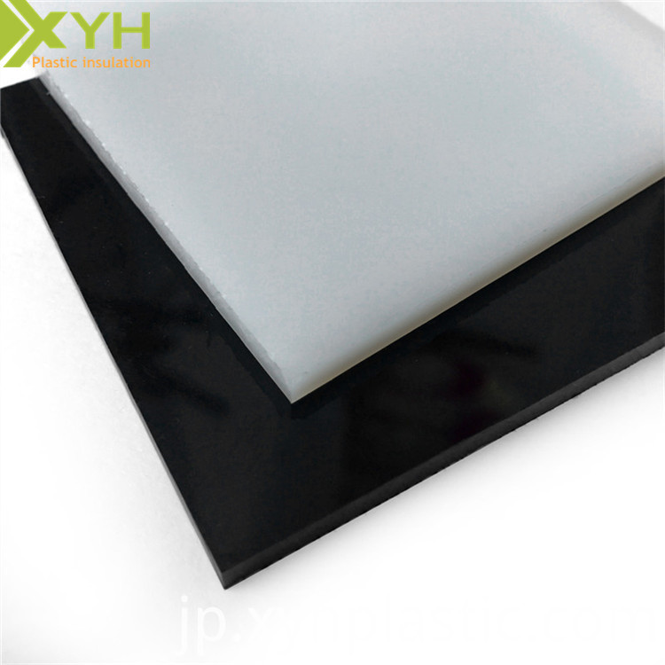 Black 6PLA Nylon Sheet