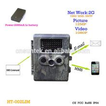 Invisible 940nm FHD e-mail MMS SMS espião Scouting Camera com 3G