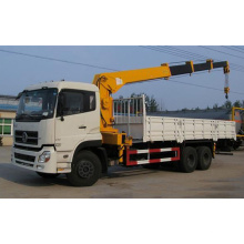 Camión con motor Dongfeng Chasis CUMMINS con grúa