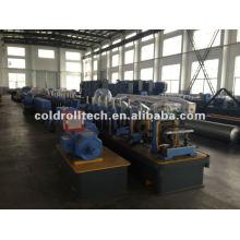 Máquina formadora de tubos de acero galvanizado