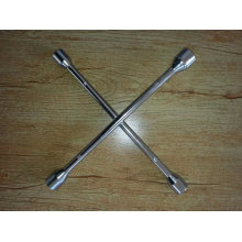 "Superiour Quality 7""-24"" Polished Cross Rim Wrench"