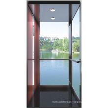 Vidro elevador elevador residencial para o fabricante Home