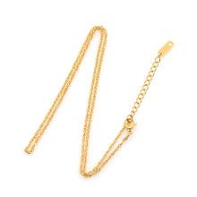 Design de colar de corrente de ouro 22k Artificial