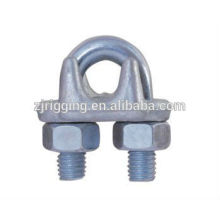 Clip de cuerda de alambre forjado gota de acero galvanizado