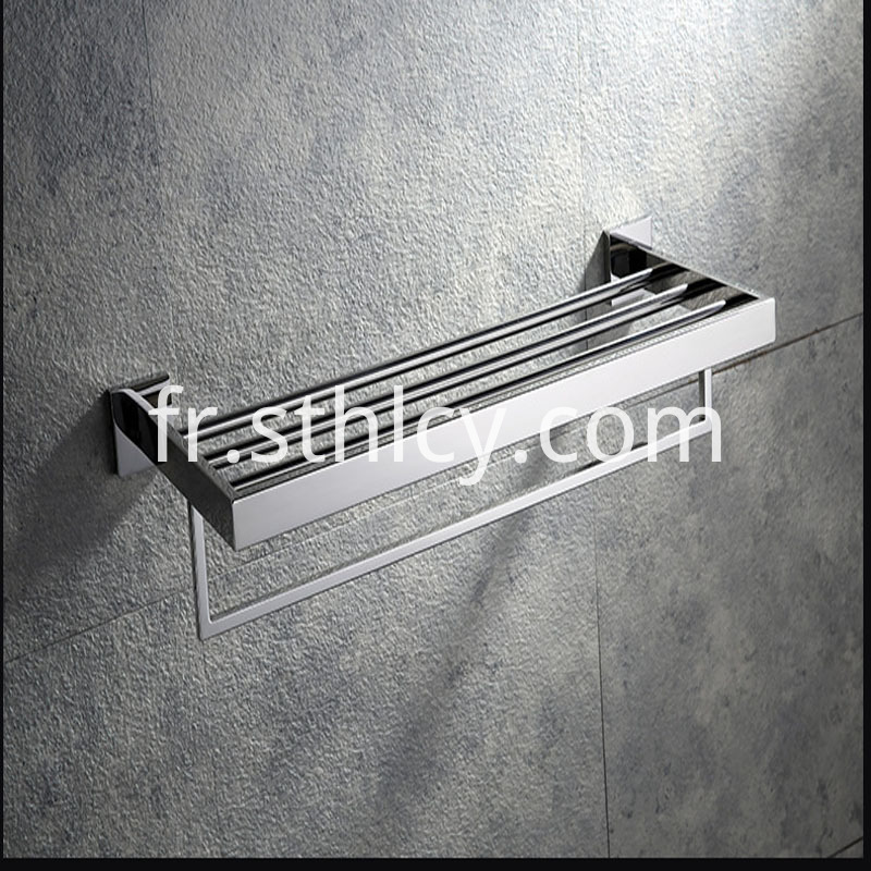 304 Multifunctional Bath Towel Rack 3