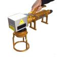 Máquina de gravura militar handheld do laser da fibra da etiqueta de cão 50W