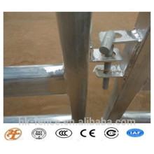 Panneau galvanisé résistant de yard de cheval de panneau de cheval de Corral de 6 barres