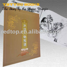 Livros do projeto da tatuagem da margem de água do CHINÊS