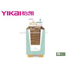 Производство всех видов оптовой деревянной вешалки для одежды