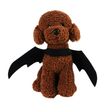 Halloween party gift for your pet supplies black bat wings dogs cloth pet clothes luxury