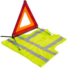 ferramenta de emergência do carro em pé / kit de segurança do carro / kit extintor de incêndio